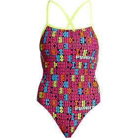 Funkita Strapped In One Piece Swimsuit Women Code Breaker